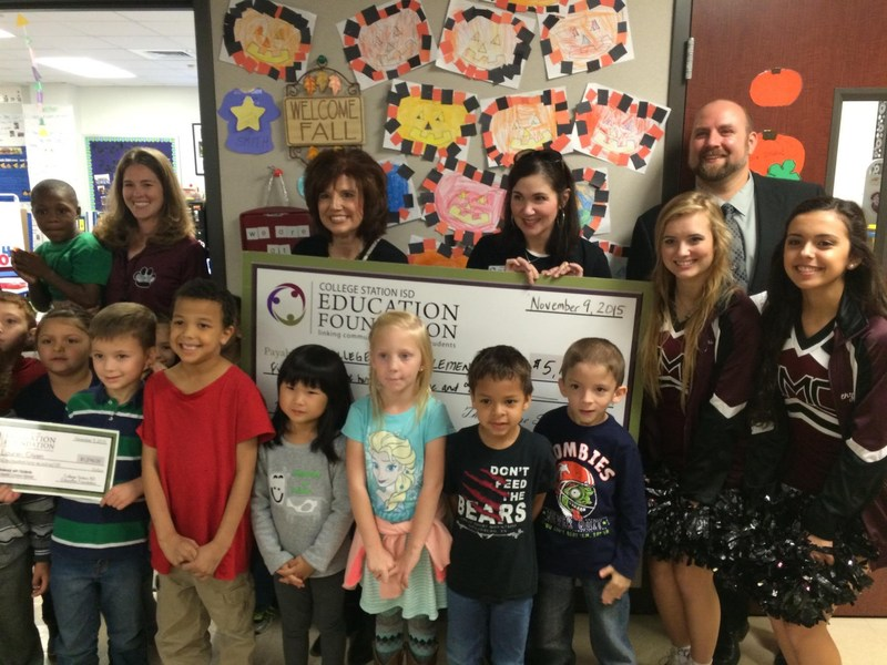 College Hills received four Education Foundation Grants