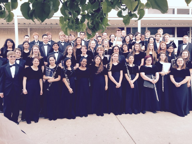Hutto HS Varsity Band earns Concert Sweepstakes