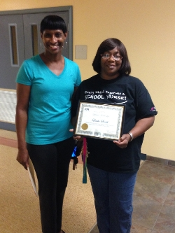 WOSMS Nurse honored by WOCCISD PTA