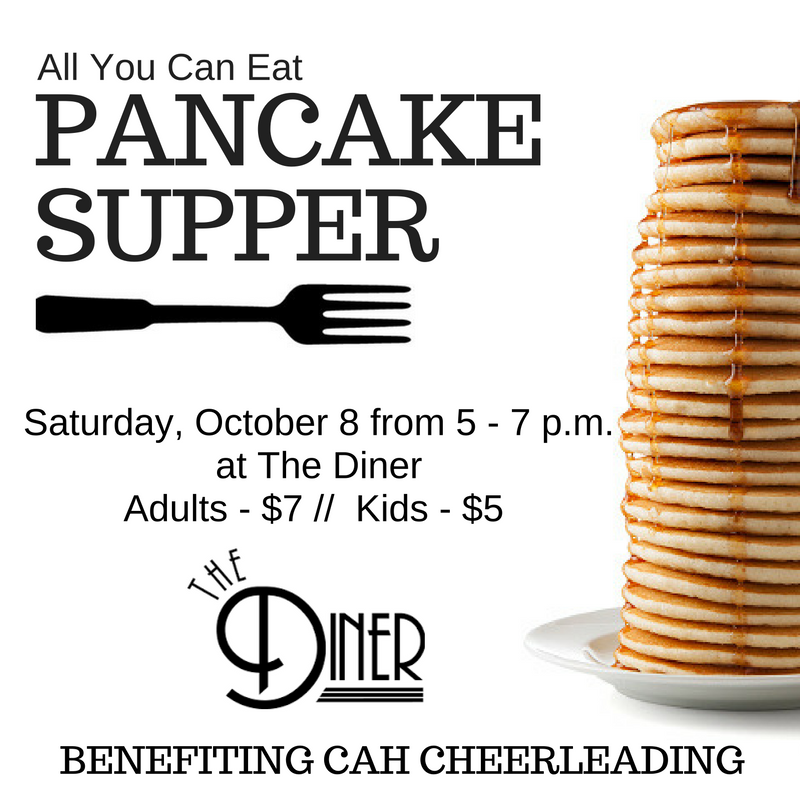 Cheer Pancake Supper Fundraiser
