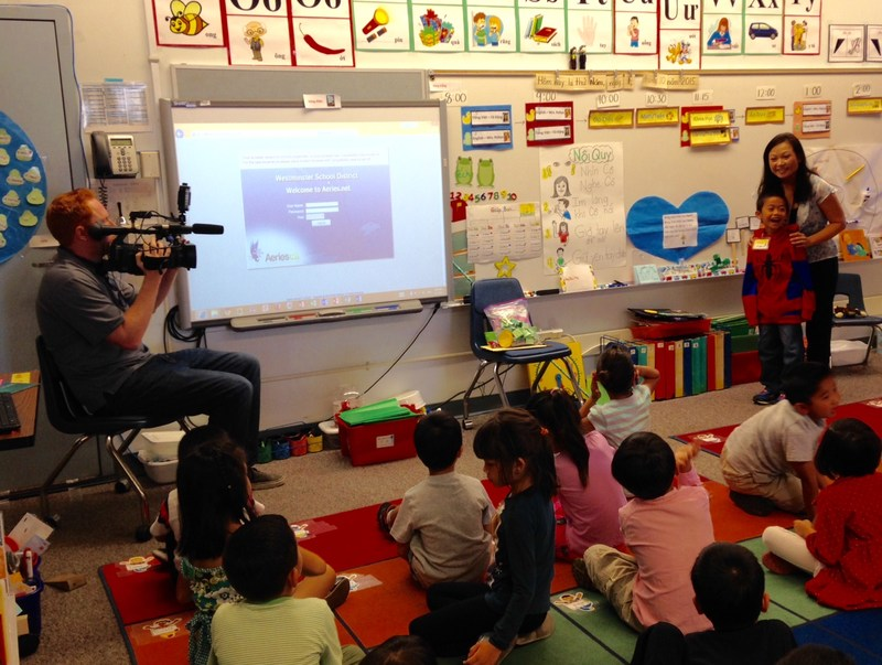Orange County Kindergarten Class First In State To Take Part In Vietnamese-English Immersion Project