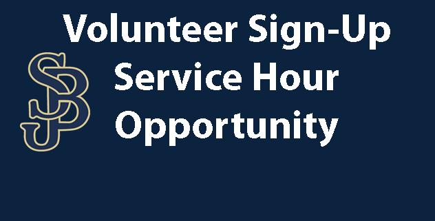 Service Hour Opportunity - Volunteers Needed