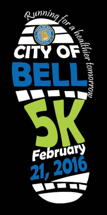 City of Bell 5K will be held Sunday, February 21st