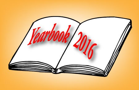 2016 Senior Yearbook Announcements
