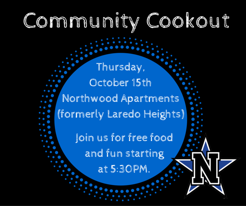 Community Cookout - October 15th
