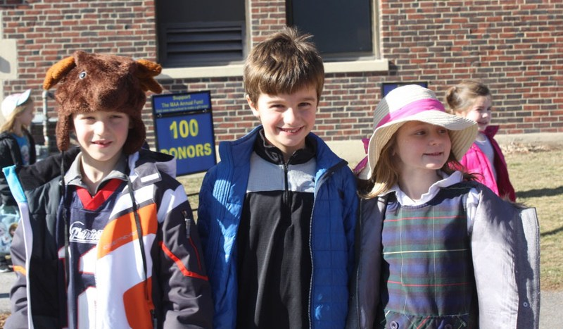 CATHOLIC SCHOOLS WEEK AT MAA KICKS OFF WITH CRAZY HAT & SAME COLOR DAY