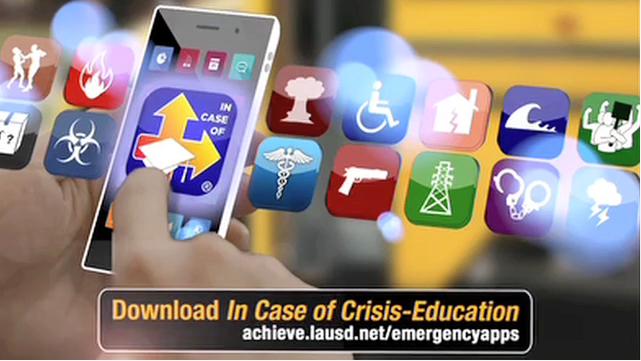 LAUSD Emergency Plan Apps -- Download Today!