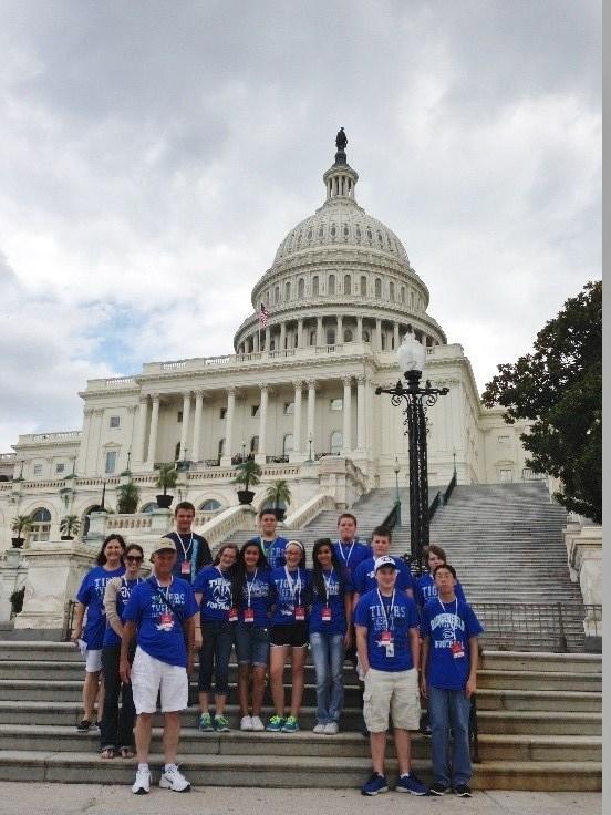 2017 Washington D.C. Student Trip Thumbnail Image