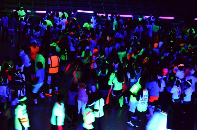 NEON KNIGHT BLACK LIGHT DANCE SATURDAY!!