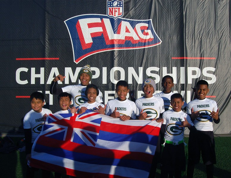 Super Flag Football Players Win Nationals