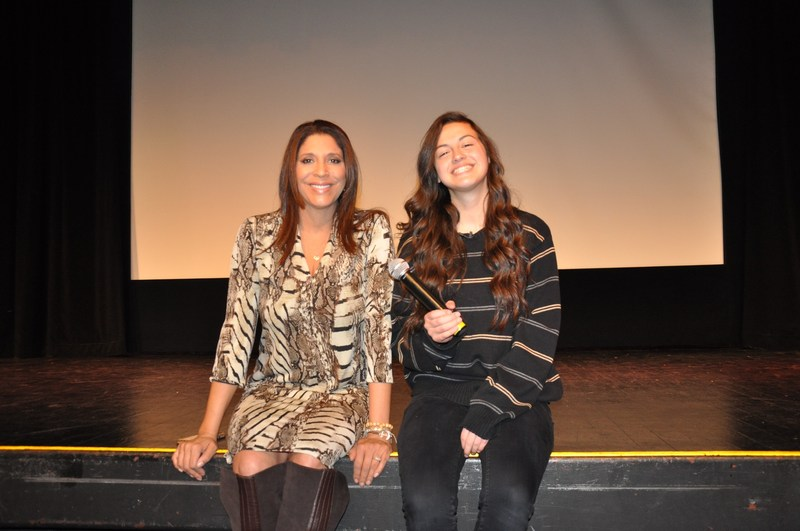 Pathways students get career advice from Fox 11 news anchor