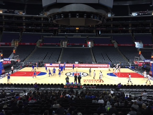 Vaughn Boys Basketball Experiences Playing at Staples Center