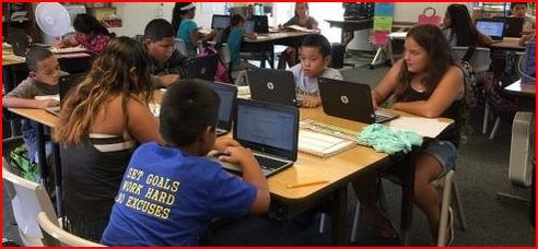 Waiahole Elementary School gives students individual laptops, enters high-tech digital program