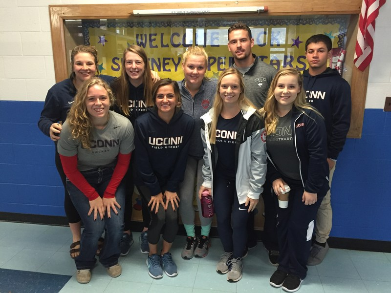 UConn Athletes Promote Reading at Sweeney Thumbnail Image