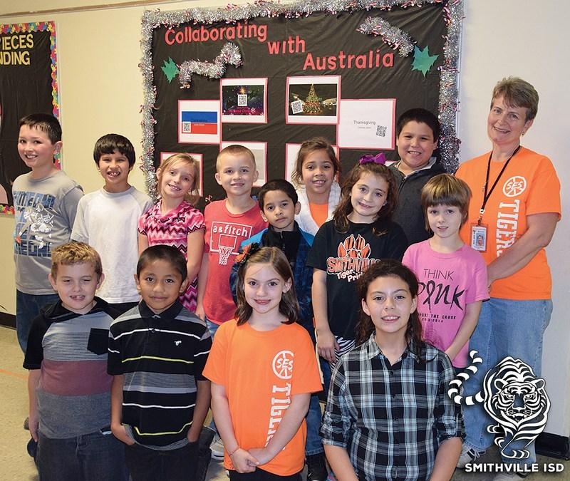 Third Graders Meet Australian Peers via Cloud
