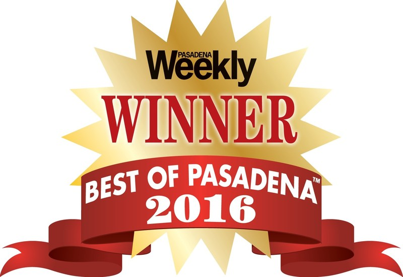 Best private school in Pasadena winner logo 2016.