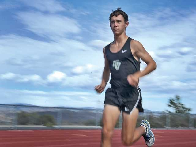 GV Boys Cross Country Runner Johnthan Bay Featured in The Signal
