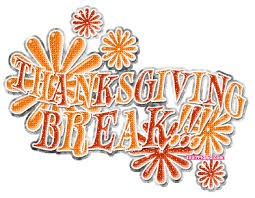Have a safe and relaxing Thanksgiving Holiday!!!
