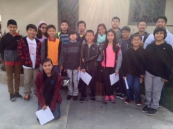 6th-8th graders Compete in Math Competition 1/31