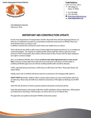 685 Construction Update Feb 2016.jpg