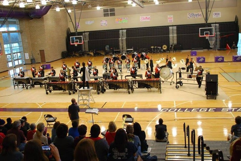 Hutto HS Drumline Takes 1st Place