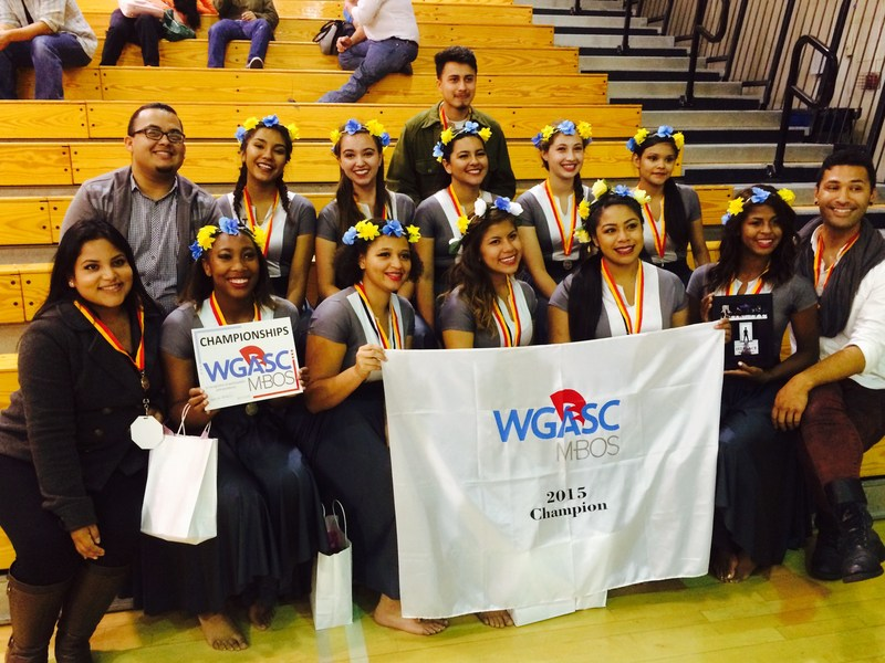 Congatulations to the Color Guard for garnering 1st place at the WGASC Division HS A Championships