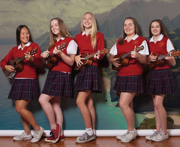 Ukulele Club featured in Orange Coast Magazine