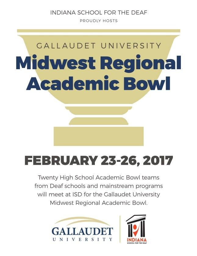 Gallaudet University Midwest Regional Academic Bowl