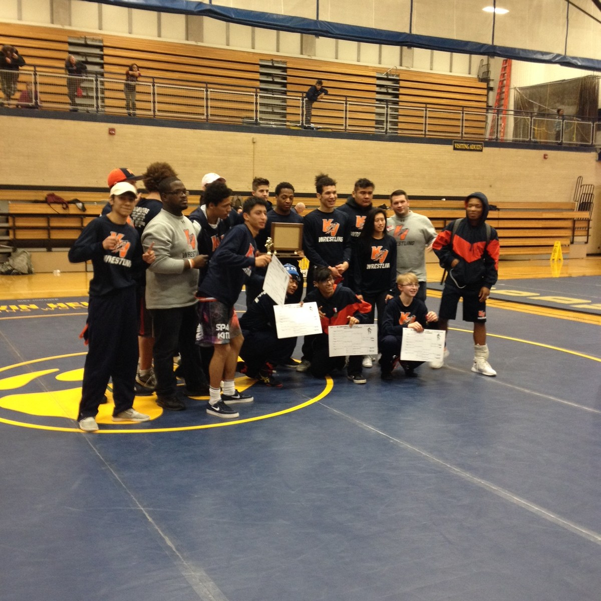OK Silver Conference Wrestling Champs for the 2nd year in a row