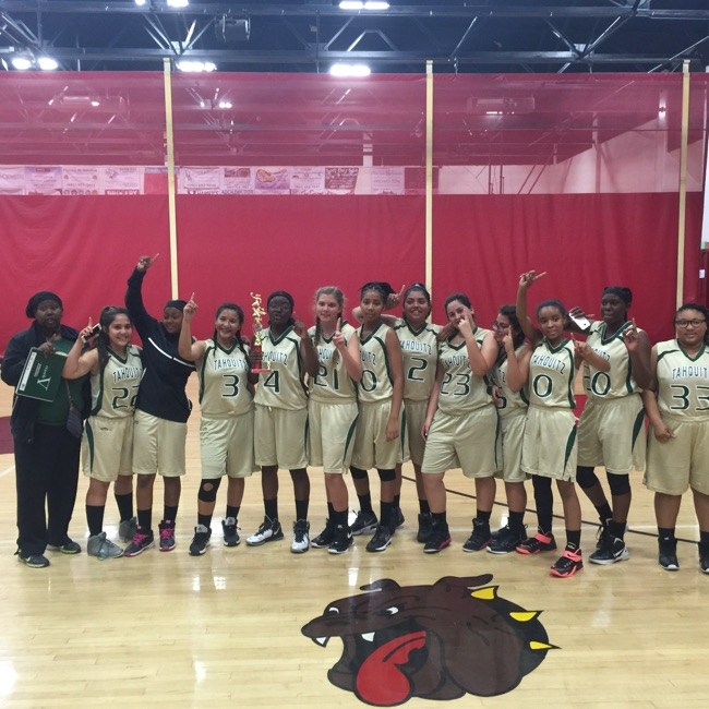 Congratulations to the Girls Freshman Basketball Team for winning first place in the Hemet High Basketball Tournament!!!