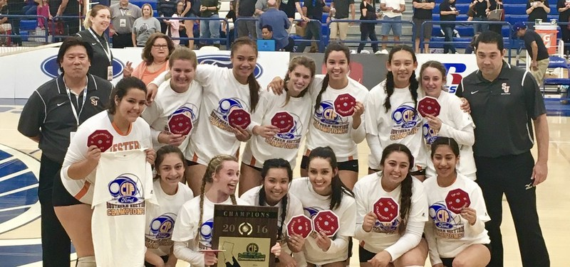 Jesters Volleyball...CIF Champions! Thumbnail Image