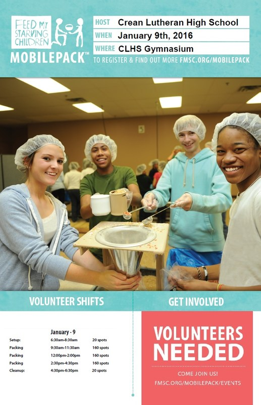 Volunteer to Pack 100,000 Meals