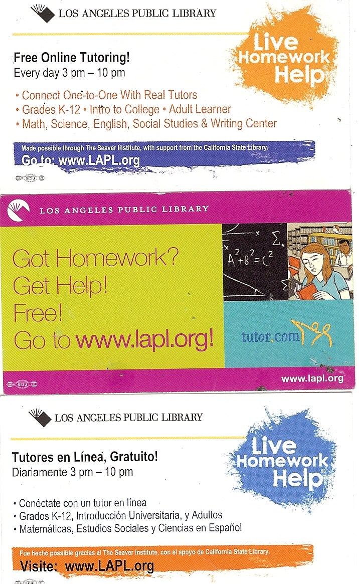 Los angeles homework help