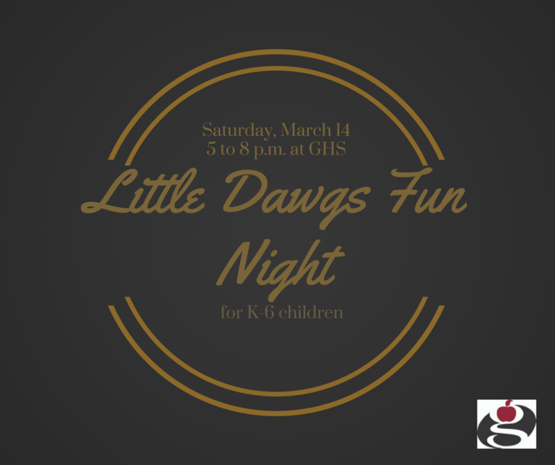 Little Dawgs Fun Night March 14