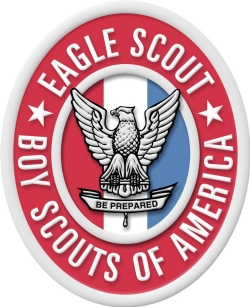 Senior Russell McIlwain creates pedestrian safety video for Eagle Scout project.
