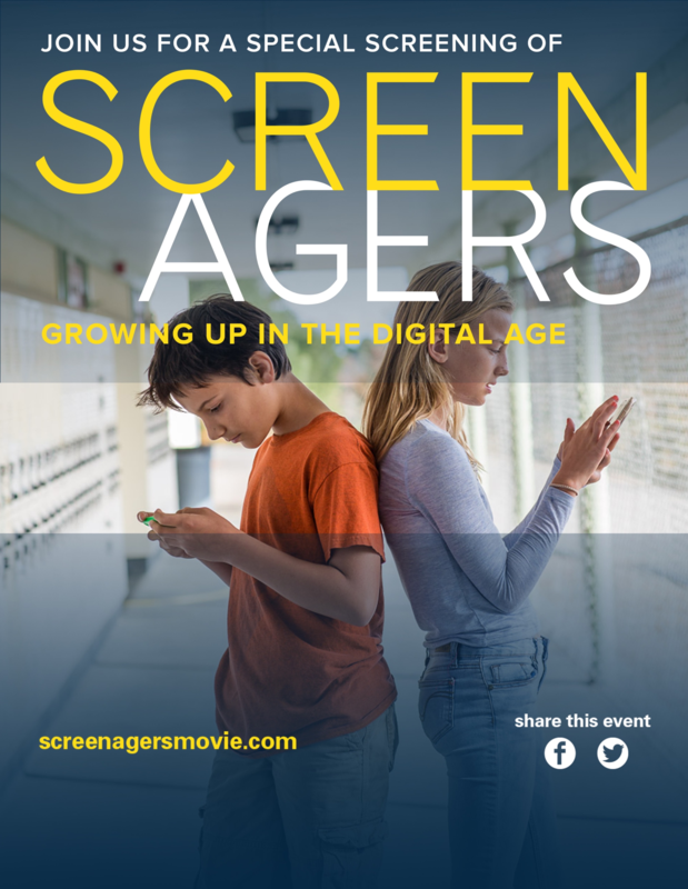 Reserve Your Tickets for the Upcoming Screening of SCREENAGERS: Growing Up in the Digital Age Thumbnail Image