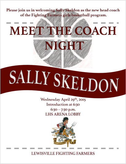 Meet the Coach @ LHS - Wednesday April 29!