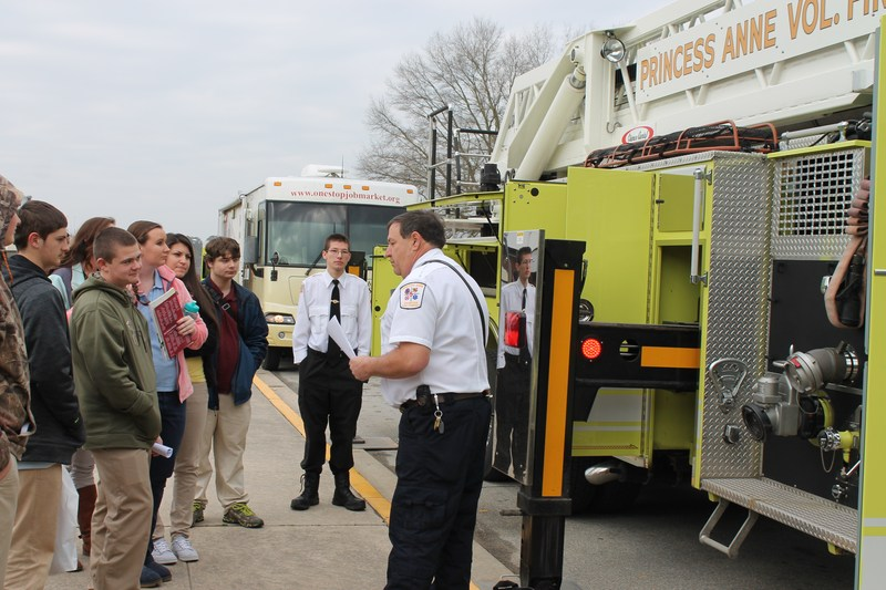 Princess Anne Fire Department , Somerset County Department of Social Services and the Somerset County Health Department to Stress Awareness of the Dangers of Carbon Monoxide!!