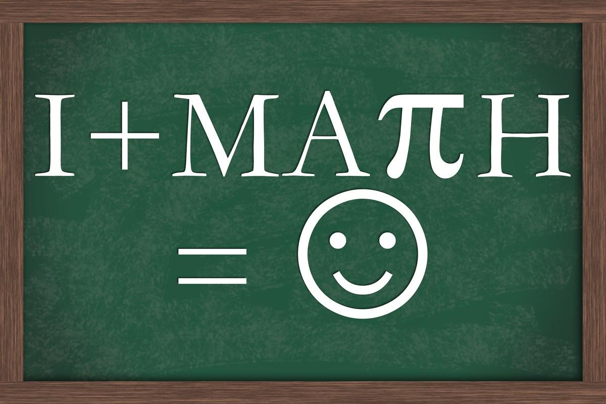 Math equation on board