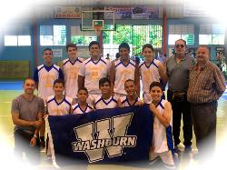 Washburn School Eagles Win and are Headed to Puerto Rico's Private School League Basketball Championship