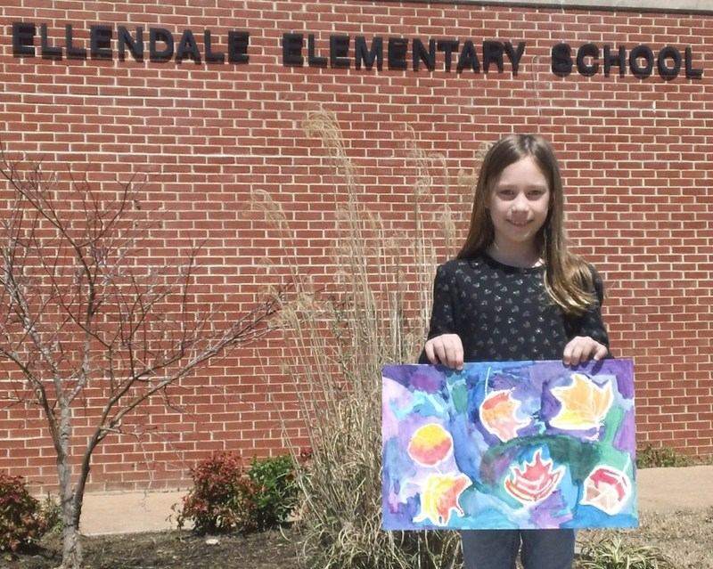 Ellendale 4th Grader Ashley DeGuzman Selected For National Art Honor