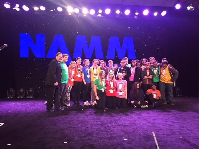 CHAMPS performs at 2016 NAMM Show