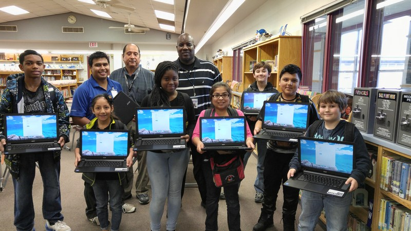 Technology department delivers $400,000 in technology through TLI grant
