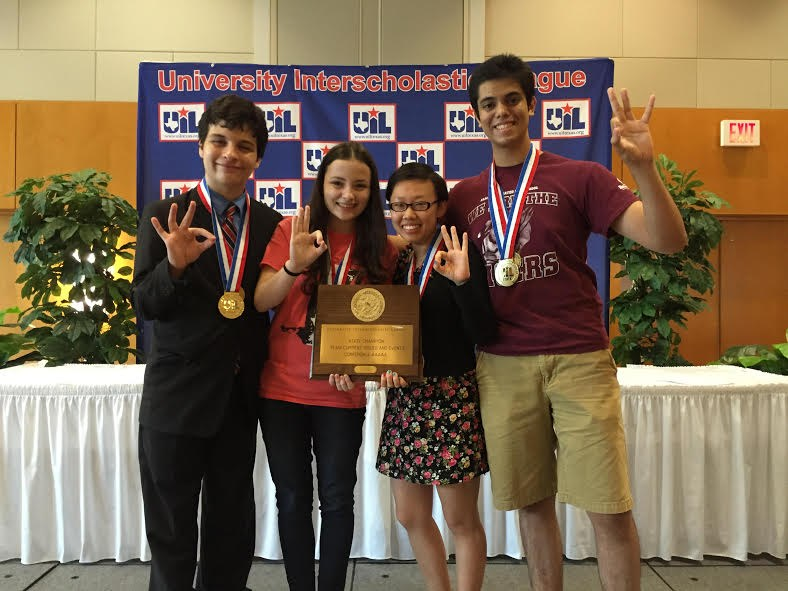 AMCHS Current Issues Team Wins 1st in State (for the 3rd time in a row...!)
