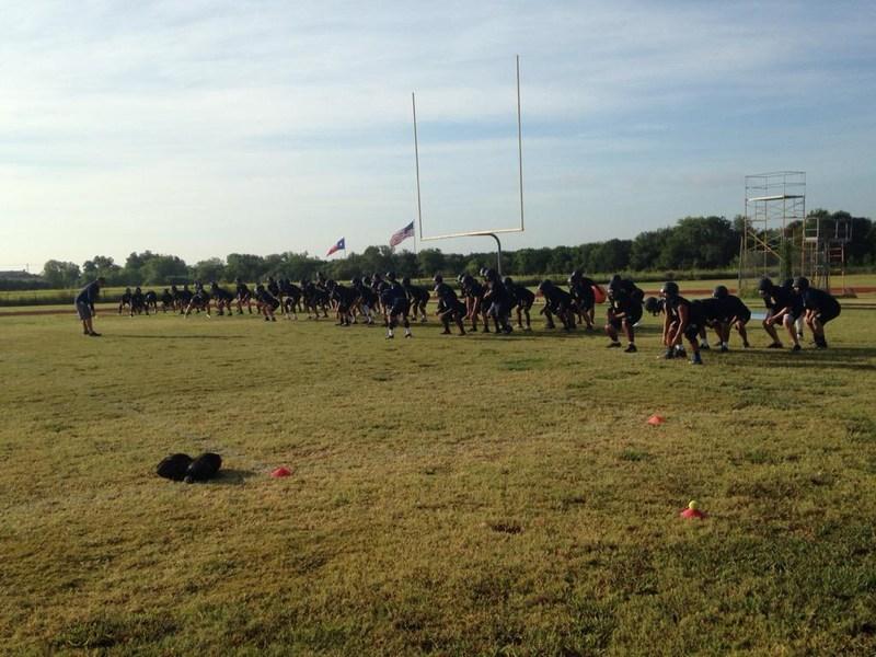 Football Camp is on!