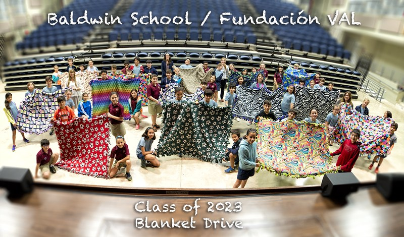 IB Learners are Caring: 5th grade holds a blanket drive for the Vive Alegre Luchando Foundation