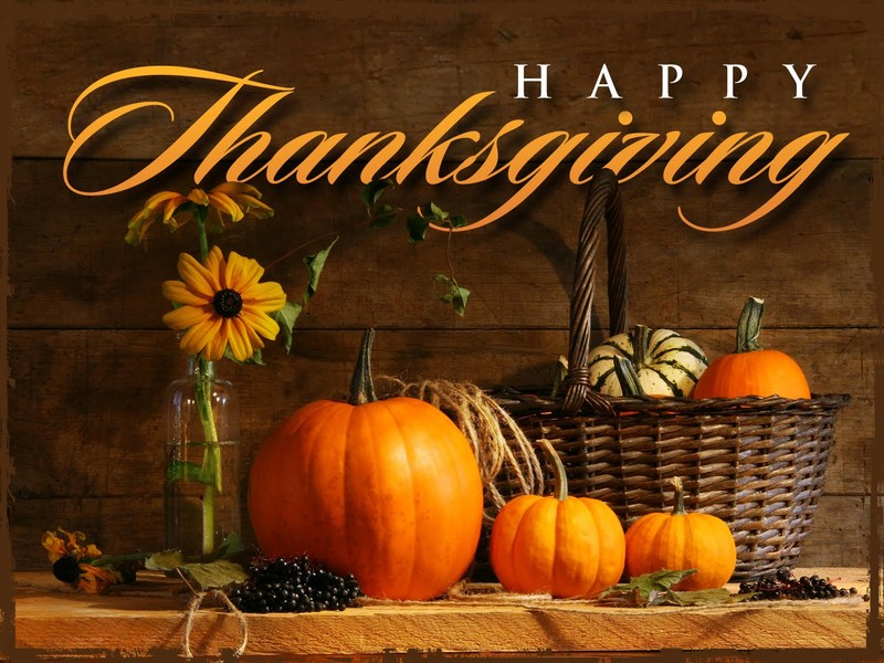 Early Release Friday, November 20th for Thanksgiving Break @ 11:30 AM!