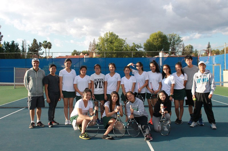 Girls Varsity Tennis - League Champions 4 Years in a Row