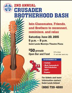For Alumni:  2nd Annual Brotherhood Bash