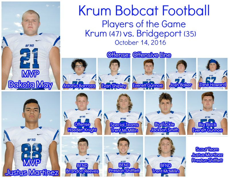 10/14 Bobcat Players of the Game Announced Thumbnail Image